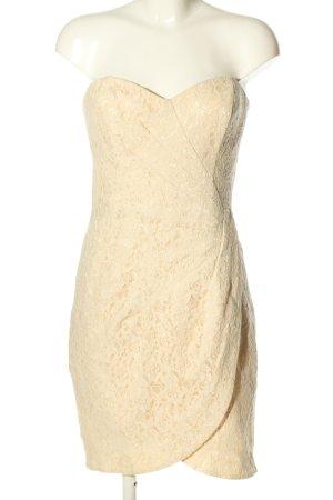 H&M Divided Bustier Dress cream elegant