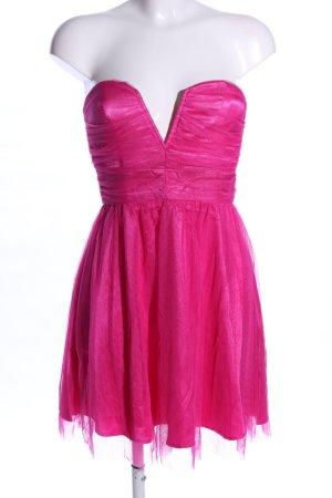 H&M Divided Vestido bustier rosa estilo extravagante
