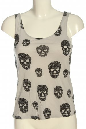 H&M Divided Camisola gris claro-negro look casual
