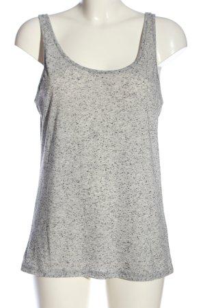 H&M Divided Camisole gris clair moucheté style décontracté