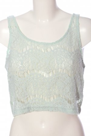 H&M Divided Camisole türkis Casual-Look
