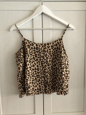 H&M divided Camisole Leomuster Leopardebmuster Animal Print M 38