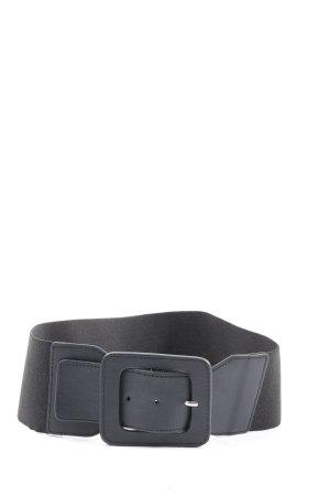H&M Divided Pasek materiałowy czarny W stylu casual