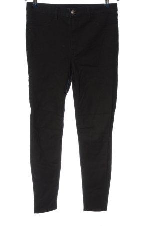 H&M Divided Spodnie Capri czarny W stylu casual