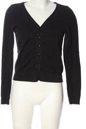 H&M Divided Cardigan schwarz Business-Look