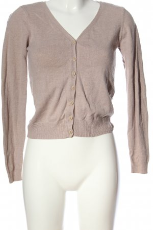 H&M Divided Cardigan nude Casual-Look