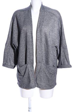 H&M Divided Cardigan hellgrau meliert Business-Look