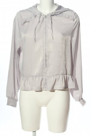 H&M Divided Chaqueta tipo blusa gris claro look casual
