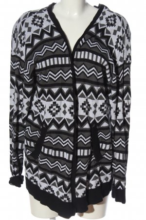 H&M Divided Cardigan Allover-Druck Casual-Look