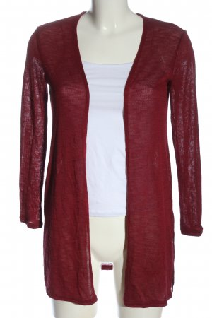 H&M Divided Cardigan rot Casual-Look