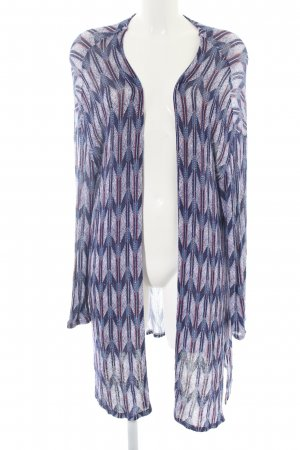 H&M Divided Cardigan abstraktes Muster Casual-Look