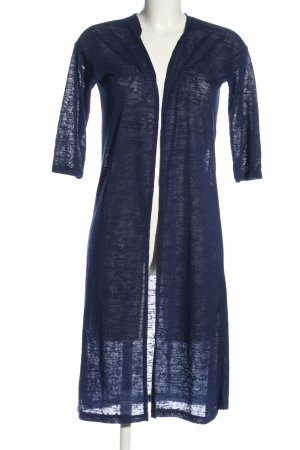 H&M Divided Cardigan blau meliert Casual-Look