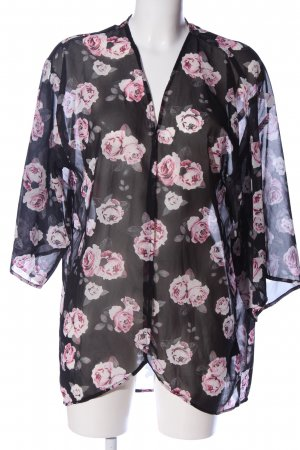 H&M Divided Kardigan Wzór w kwiaty W stylu casual
