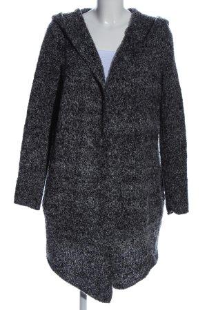 H&M Divided Cardigan schwarz meliert Casual-Look