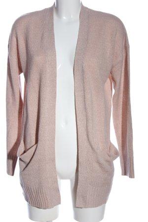 H&M Divided Kardigan różowy W stylu casual