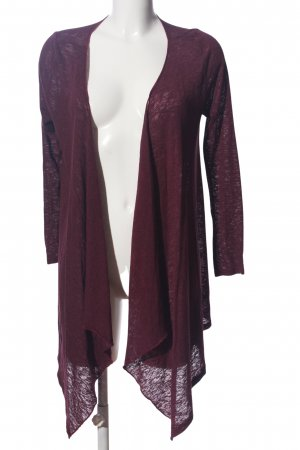 H&M Divided Cardigan lila Casual-Look