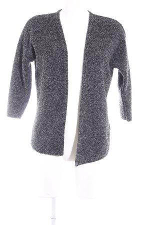 H&M Divided Kardigan czarny-szary Gradient W stylu casual