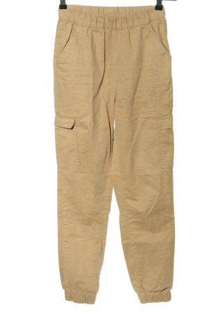H&M Divided Pantalone cargo crema stile casual