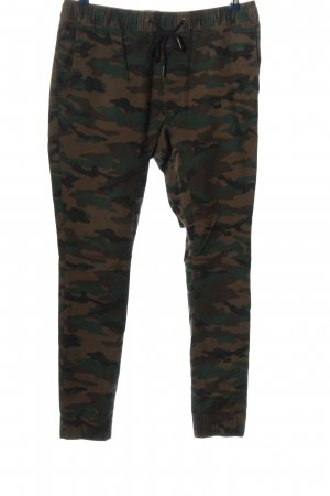 H&M Divided Cargohose Camouflagemuster Casual-Look