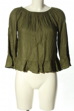 H&M Divided Carmen-Bluse braun Casual-Look