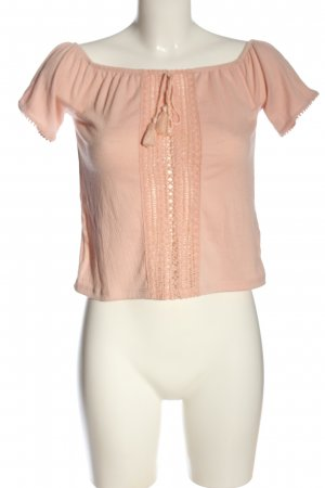H&M Divided Carmen-Bluse nude Casual-Look