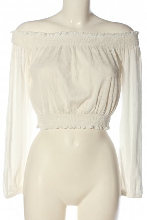 H&M Divided Carmen Blouse white casual look