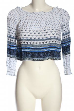 H&M Divided Carmen-Bluse Mustermix Casual-Look