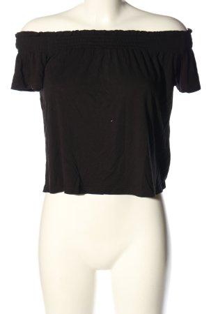 H&M Divided Carmen-Bluse braun Casual-Look