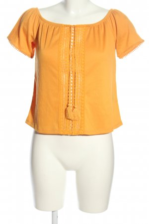H&M Divided Carmen-Bluse hellorange Casual-Look
