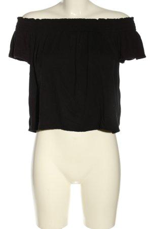 H&M Divided Top épaules dénudées noir style décontracté