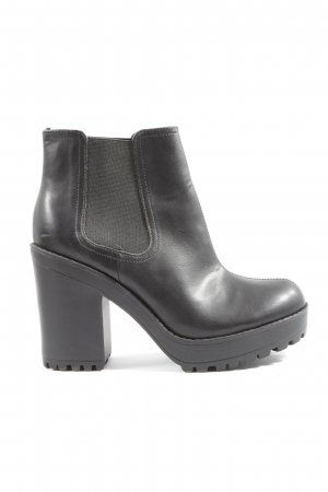 H&M Divided Chelsea Boots schwarz Casual-Look