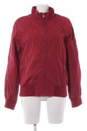 H&M Divided Collegejacke neonrot College-Look