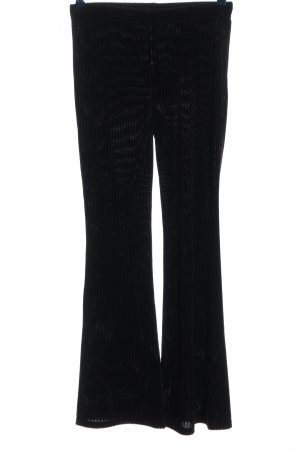 H&M Divided Cordhose schwarz Casual-Look