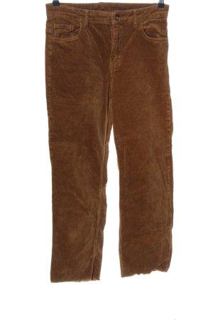 H&M Divided Corduroy broek bruin casual uitstraling