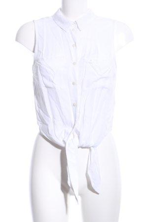 H&M Divided Corpiño blanco estilo «business»