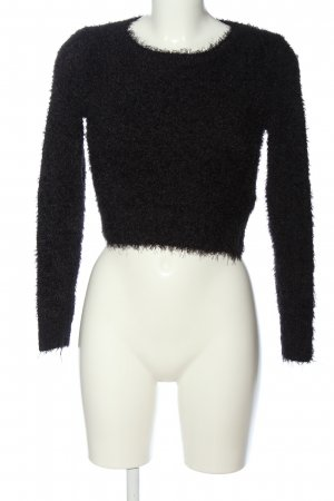 H&M Divided Cropped Jumper black casual look