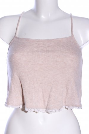 H&M Divided Cropped Shirt pink meliert Casual-Look