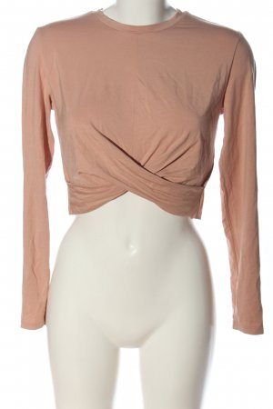 H&M Divided Cropped Shirt pink Casual-Look