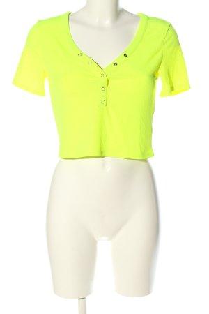 H&M Divided T-shirt court vert style décontracté