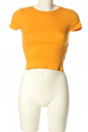 H&M Divided Cropped Shirt hellorange Casual-Look