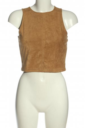 H&M Divided Cropped Top braun Casual-Look