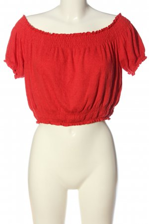 H&M Divided Cropped Top rot Casual-Look