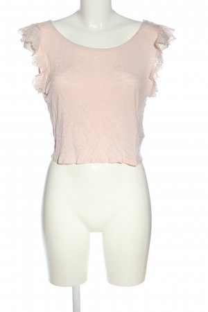 H&M Divided Cropped Top cream casual look