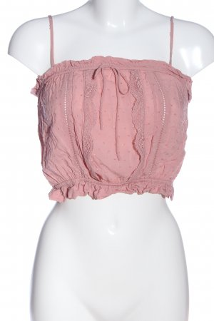 H&M Divided Cropped Top pink Casual-Look