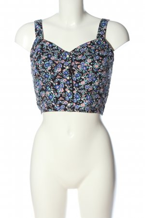 H&M Divided Cropped top volledige print casual uitstraling