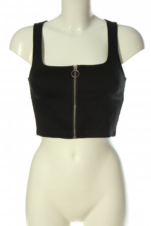 H&M Divided Cropped Top black casual look