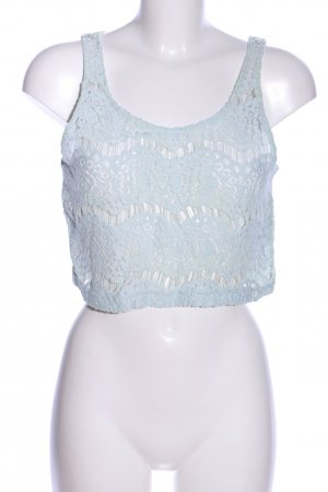 H&M Divided Cropped Top turquoise casual look