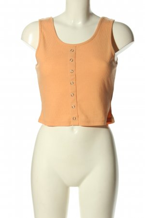 H&M Divided Cropped top licht Oranje casual uitstraling