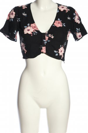 H&M Divided Cropped Top Allover-Druck Casual-Look