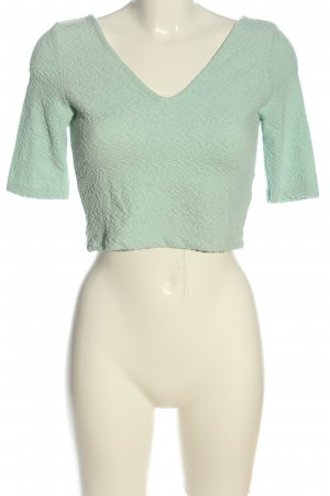 H&M Divided Cropped Top grün Casual-Look